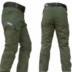 DOZN Celana Panjang Blackhawk Tactical outdoor green hijau