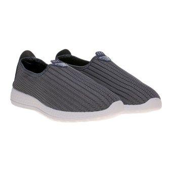 Harga Dr. Kevin Soft Comfortable Men Slip On 9307 Grey Online Murah ... aa1c2979d8