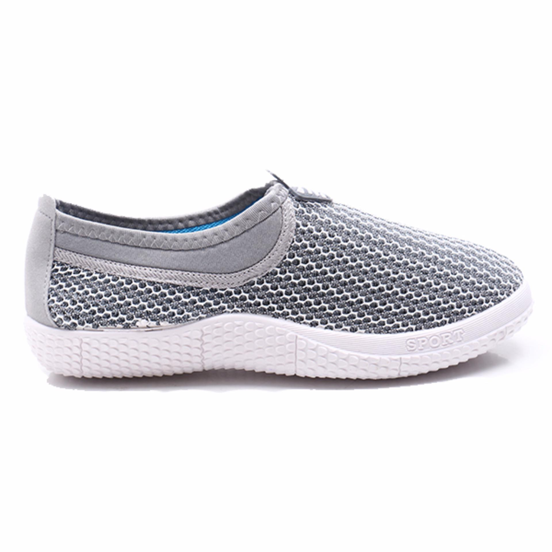 Dr Kevin Women Flat Slip On Shoes 43104 Blue Spec Dan Daftar Harga Sandals 43224 Biru 39 Sneakers 43213 Grey