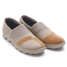 Dr. Kevin Women Sneakers slip On 43206 - Camel