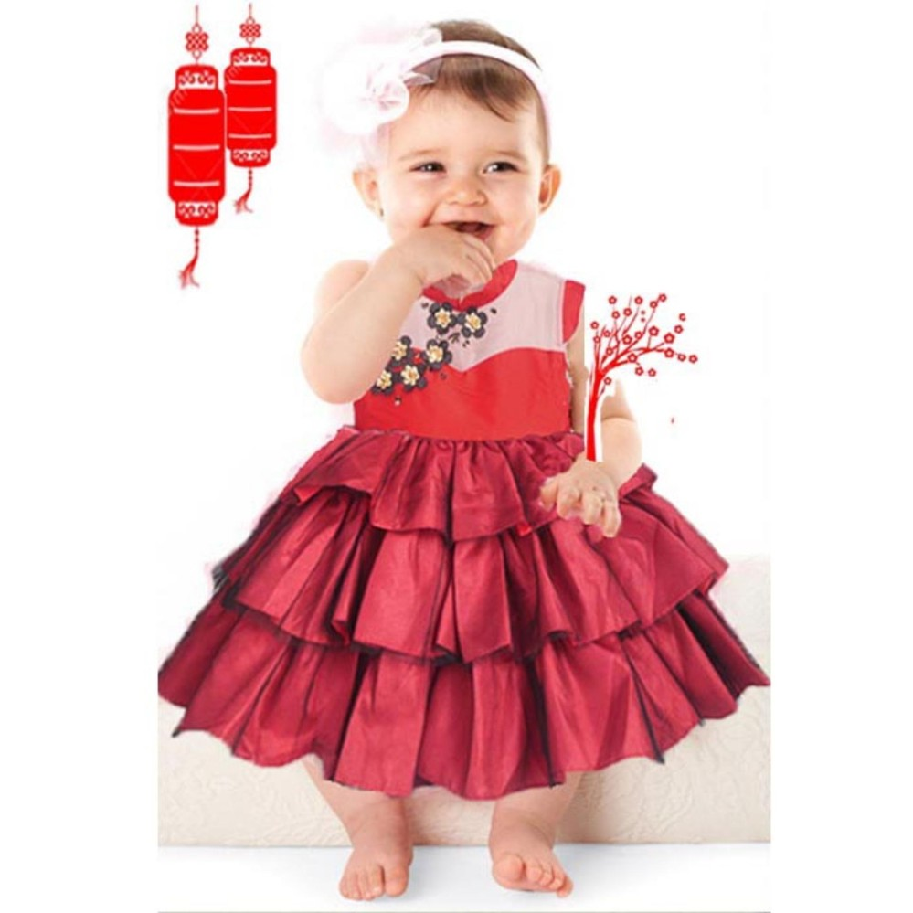 Dress Pesta Bayi Dress Pesta Anak Gaun Bayi Murah Gaun Anak Murah Dress Anak Murah Dress Bayi Murah Dress Merah Anak
