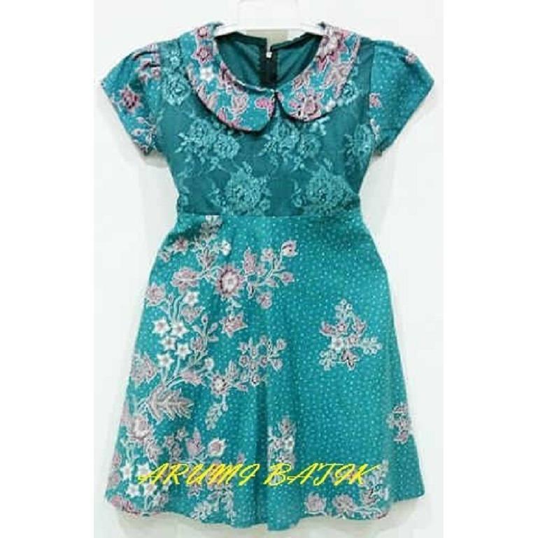 Dress / Terusan / Baju Batik Anak Perempuan 1376