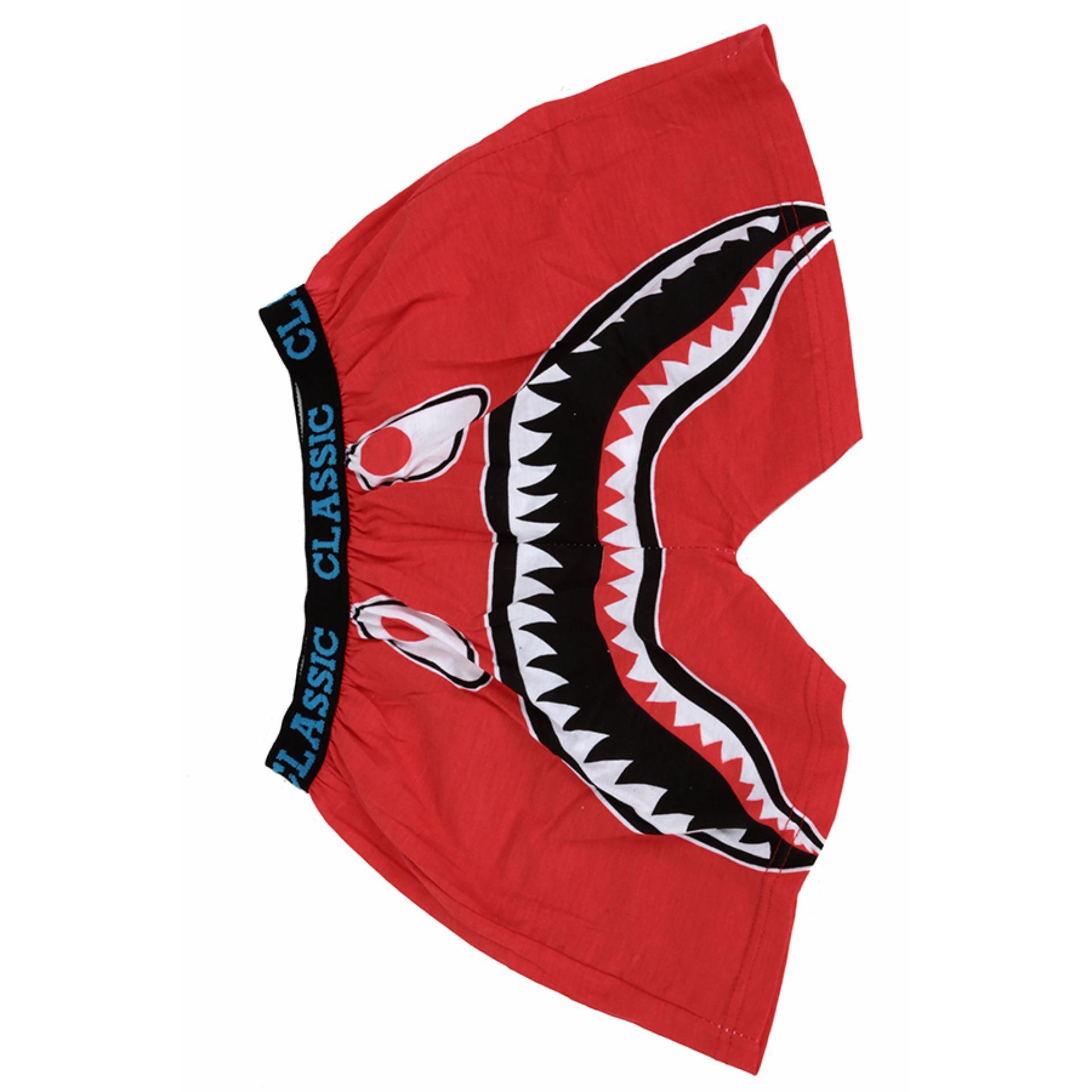 Elfs Shop Celana Boxer Pokeball Merah Cabe Daftar Harga Terlengkap Pria Spandek Dongker Box 612 Santai Dalam Pendek Bape Shark