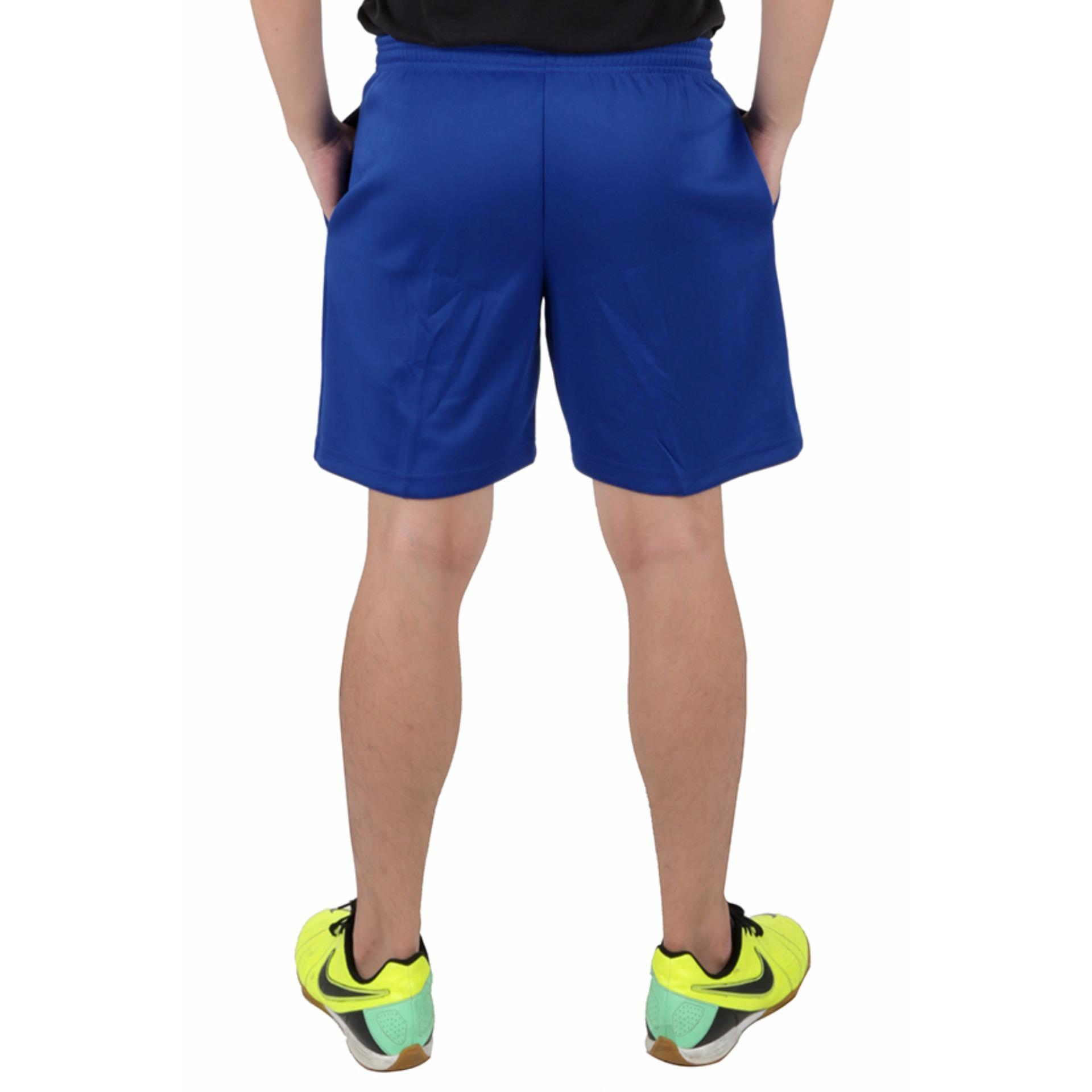 ... Elfs Shop Celana Olahraga Training Pendek Diadora Biru Tua