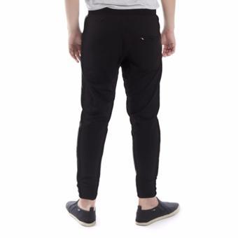 Elfs Shop - Celana Panjang Bahan Sweatshirt Jogging Pants 95D1-Hitam - 2