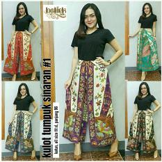 Cj collection Celana batik kulot rok panjang wanita jumbo long pant AsheraIDR105800. Rp 115.900