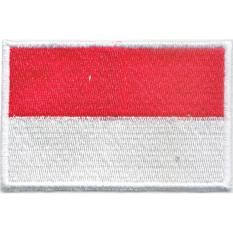 Emblem Bordir Bendera Indonesia