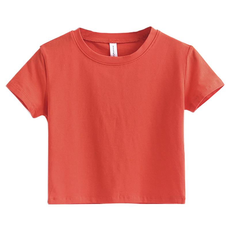 Eropa dan Amerika putih perempuan lo shi t-shirt putih t-shirt (Zhu