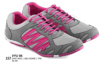 Everflow Sporty Sepatu Lari Wanita Synthetic VYU 06 - Grey