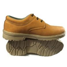 EWN Sepatu Formal Pria / Sepatu Casual Pria / Sepatu Kulit Asli - Mocca