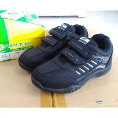 Fanie Shoes - Random PD558  sepatu sekolah anak laki hitam murah