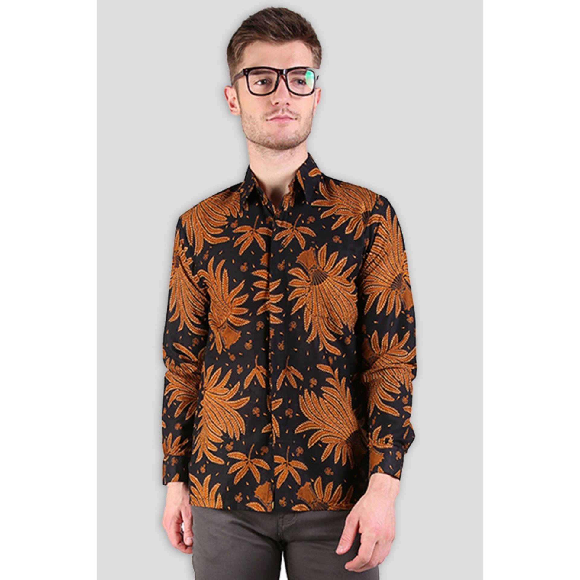 Baju Batik Pria Lazada: Kemeja Batik Pria Lengan