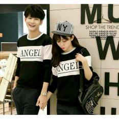 FASHION COUPLE-BAJU PASANGAN SWEATER COUPLE SWEATER PASANGAN SWEATER FASHION COUPLE SWEATER ANGEL LP-