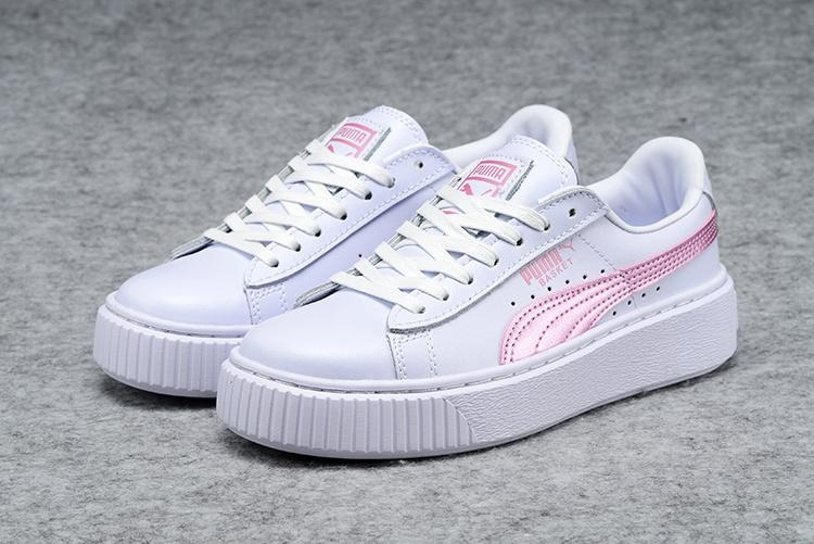 ... Fashion New Women s Puma Basket Creepers Glow Rihanna Casual ShoesX  Fenty Creeper Rihanna Sneakers Sports White ... 9915878f00