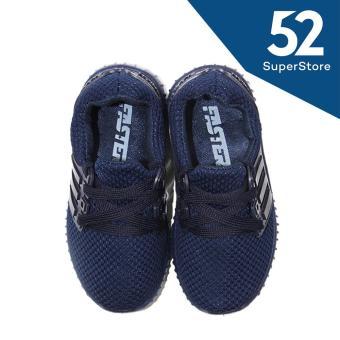 Faster Sepatu Anak Sneaker 1704-600 - Blue Size 26-31 - 5