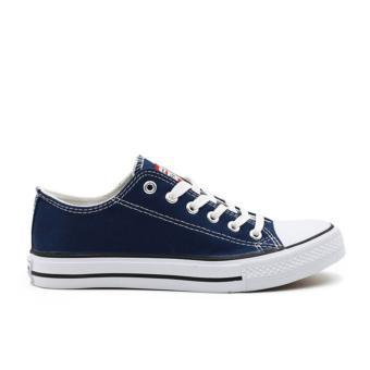 Faster Sepatu Sneakers Kanvas Wanita 1603-03 - Navy - 2