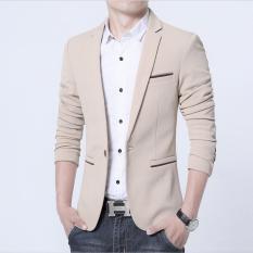 Fesyen Zone Blazer Instinct Cream - Cream