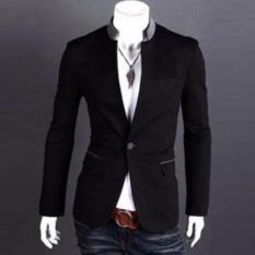 Fesyen Zone Blazer Renji - Hitam