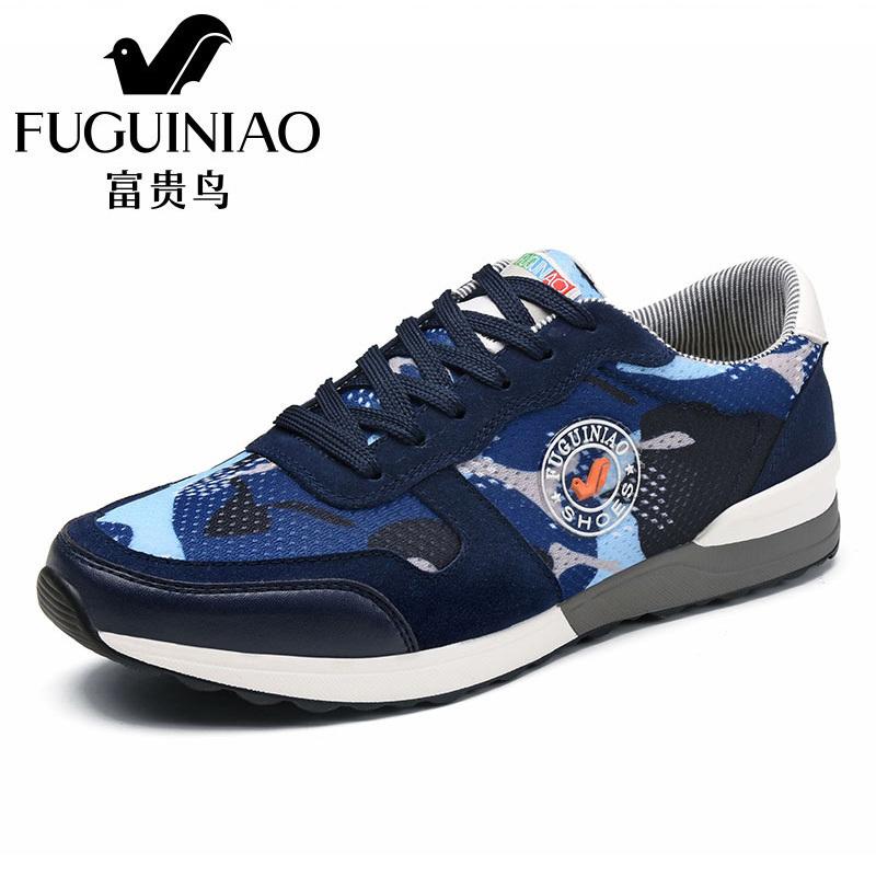 Cheap online FGN Pria Sepatu Pria Sepatu (Biru tua (16036))