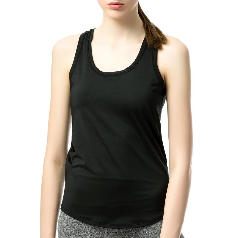 Surat Silang Kebugaran Vest Hitam Daftar Harga Terkini Termurah Source · Fimage perempuan yoga Slim kata olahraga rompi Hitam