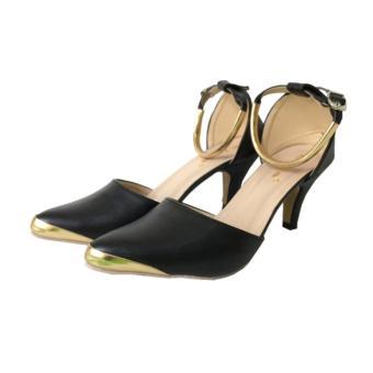 ... Fuboshoes High Heels Carissa Gelang Hitam - 3 ...