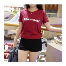 Game - Tumblr Tee / T-Shirt / Kaos Wanita - Terserah