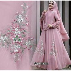 Gamis / Baju Wanita Muslim Narcissus Syari Pink