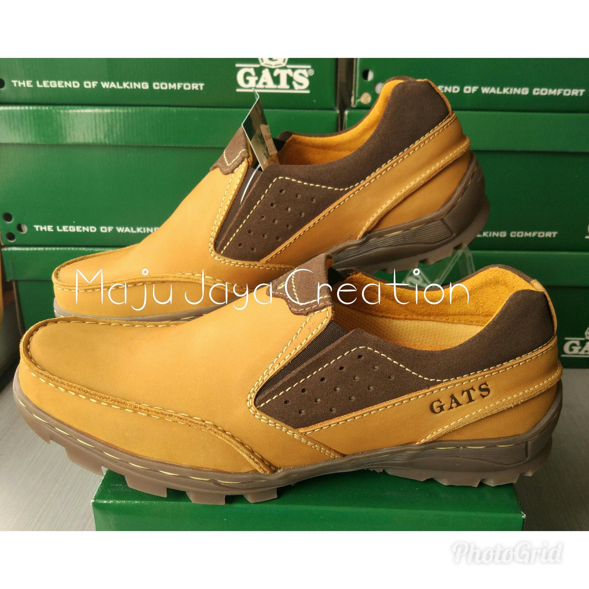 Harga Penawaran GATS SHOES Sepatu Kulit Pria To 2205 TAN eShop Checker f0672512bd