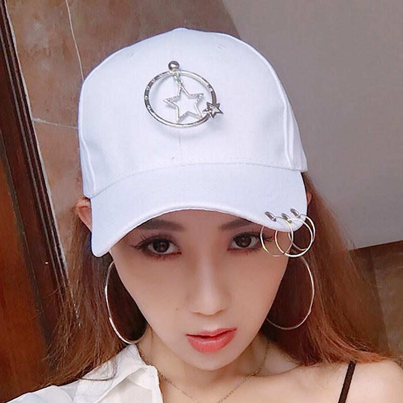 Cheap online GD Korea Fashion Style pria dan wanita datar topi topi pita  panjang (Pada lingkaran kecil berujung lima bintang dalam besar berujung  lima ... 0009401007