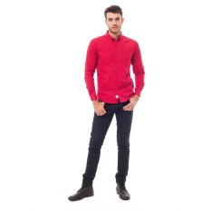 GERRY RED SLIM FIT-red-XL
