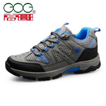 Harga Gog laki-laki peninggi musim gugur baru kebugaran kasual sepatu  sepatu pria (Abu-abu 6677) 67035a50cf