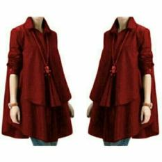 Grateful Blouse Hiraku - Best Seller - Maroon