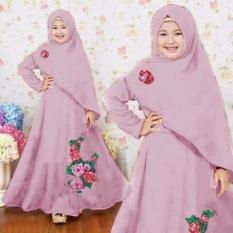 Grateful Syari Anak Najwa Umur 7 Sampai 10 Tahun Dusty Pink Harga Source .