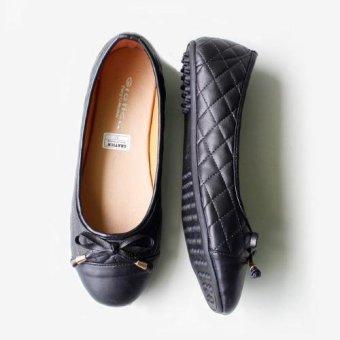 ... Gratica Sepatu Flat Shoes AL19 - Hitam - 4