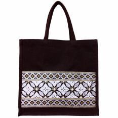 Green3R Tas Karung Goni Natural Tote Bag M260 - Tas Belanja Wanita