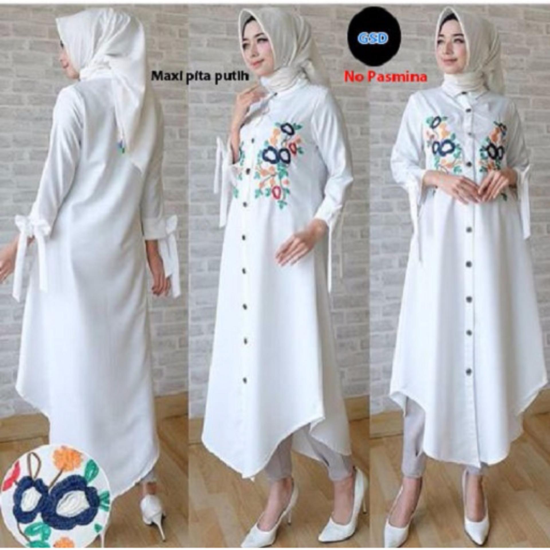 REYN SHOP Tunic Kidi Dress Blue | Baju wanita | Dress wanita | Dress Blue. Source · Flash Sale Grosir Dress- Maxi DN 10 Ribbon Twiscone