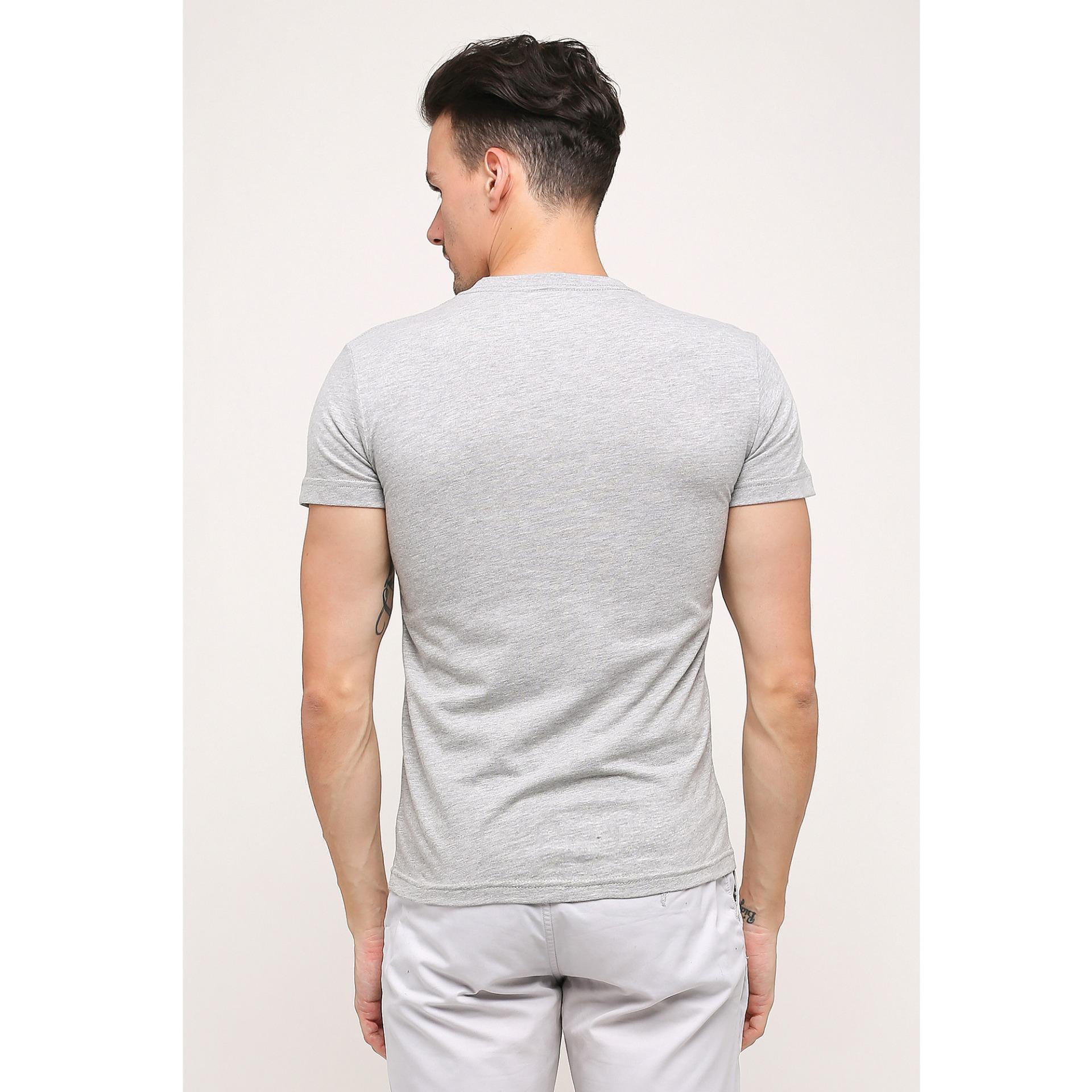 Gt Man T Shirt V Neck Abu Daftar Harga Terlengkap Indonesia Enzoro Pakaian Olahraga Pria Revino Anthracite Grey Muda M Tshirt Tvsm