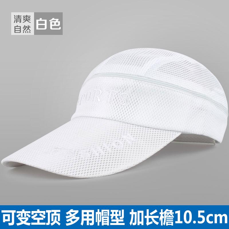 Cheap online GUANSHIFU Topi Matahari Trendi Versi Korea (Segar dan alami putih)