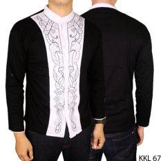Gudang Fashion - Baju Muslim Pria Terbaru - Hitam