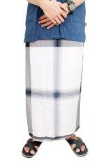 Gudang Fashion - Sarung Peralatan Sholat Pria - Hitam Putih