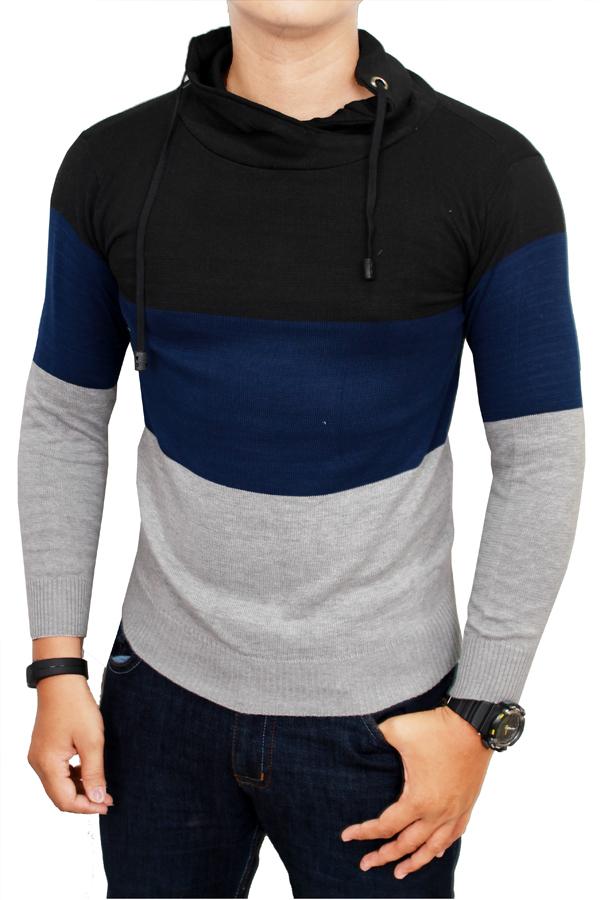 Gudang Fashion - Sweater Pria Keren - Kombinasi