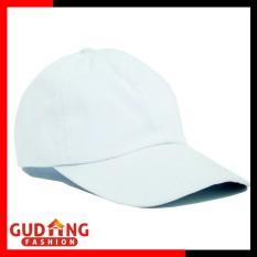 Gudang Fashion - Topi Wanita Baseball Polos - Putih