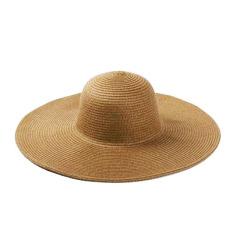 Hari pasang Korea Fashion Style warna solid lipat topi matahari topi (Besar topi jerami bertepi