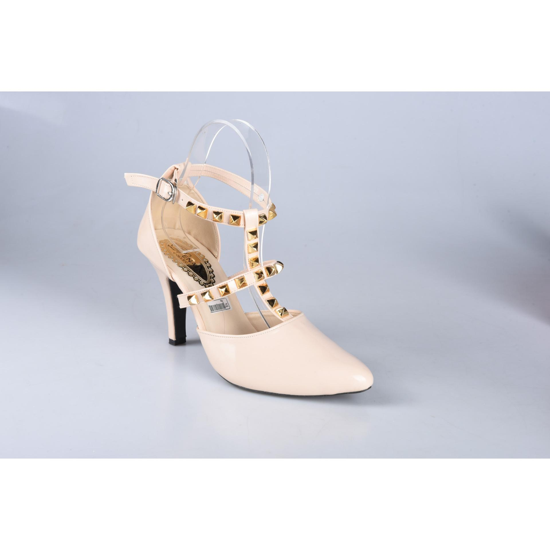 High Heels Sepatu Wanita Cream - S229