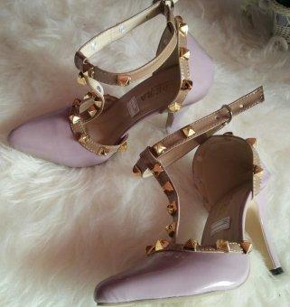 High Heels Sepatu Wanita Ungu - S276 - 2
