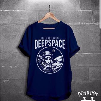 Harga HIGH5 Fashion Pria Kaos Dendev Deep Space Online Terjangkau