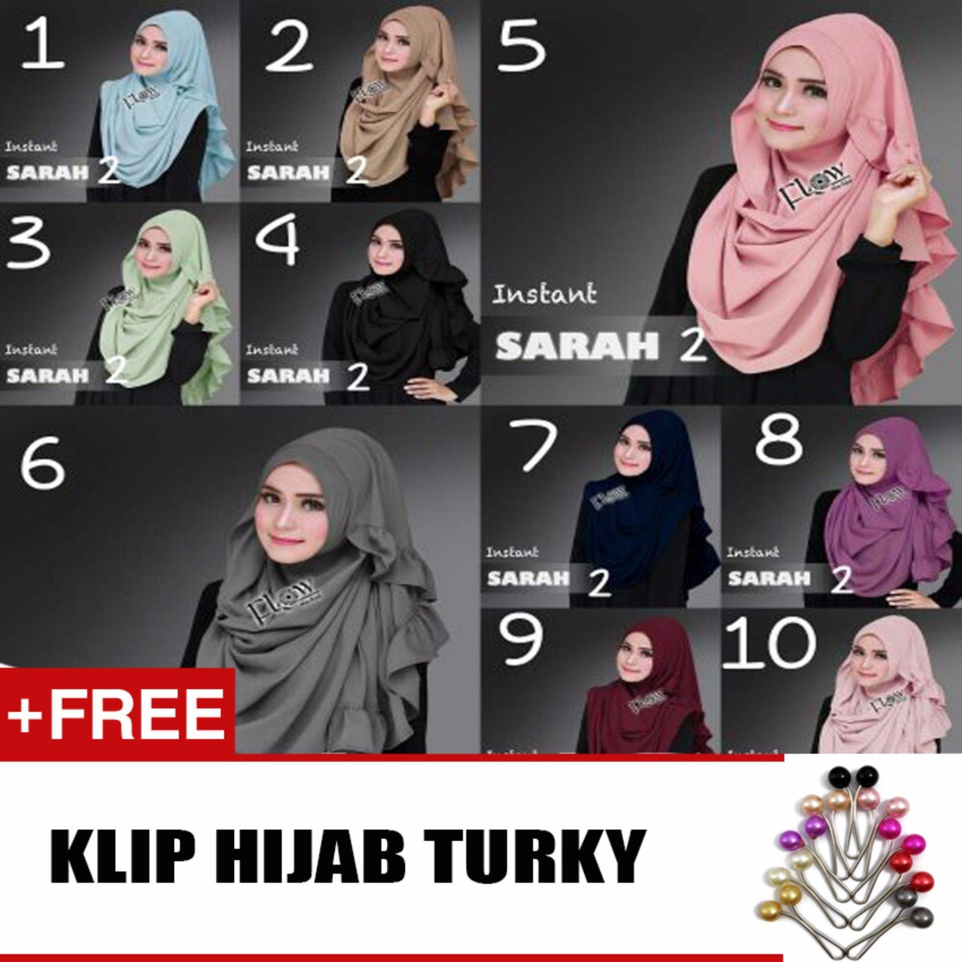 Hijab Jilbab Instant Lcb Maroon Free Klip Daftar Harga Terbaru Dan Khimar Maroko Withpet Sj0004 Sarah