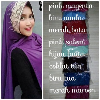 harga Hijab Jumbo - Jilbab syari - Hijab Instan - Hijab modern - Ranaya Fashion Lazada.co.id