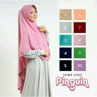 MJ Gamis Mozza Syari - Grey Bata. Source · Hijab Khimar Pinguin Pad, 51.500