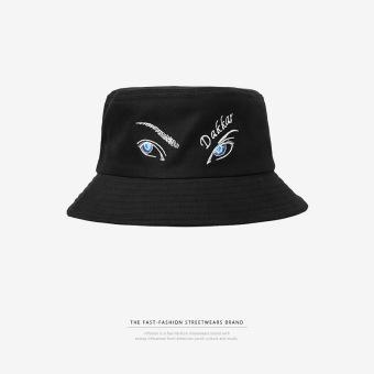 Harga Penawaran HipHop hip-hop hip-hop mata bahasa Inggris topi topi nelayan (Hitam (tidak dapat disesuaikan)) Harga baru